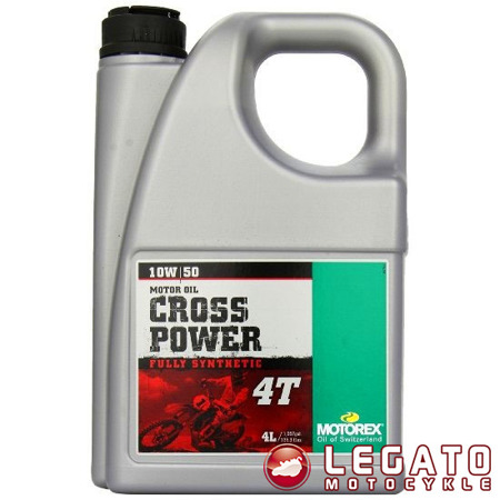 MOTOREX CROSS POWER 4T 10W50 4L