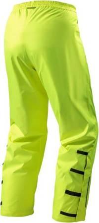 REV'IT! Spodnie ochronne przeciwdeszczowe i odblaskowe Acid H2O kolor Żółty