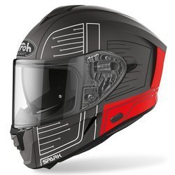 Kask Airoh Spark Cyrcuit Red Matt