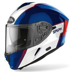 Kask Airoh Spark Flow Blue Red Gloss