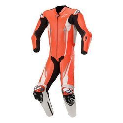 Kombinezon skórzany Alpinestars Racing Absolute Tech Air czerwony